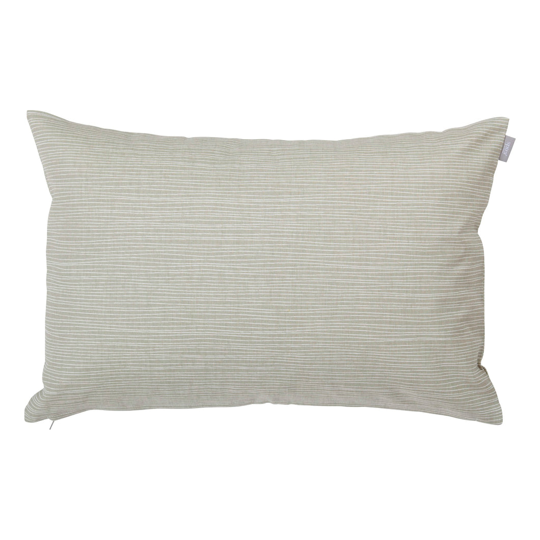 Line Cushion Cover - Linen