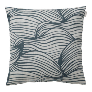 Wave Cushion Cover - Blue