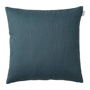 Slat Cushion Cover - Dusty Blue