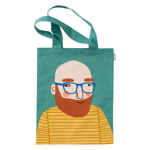 Michael Cotton Tote Bag