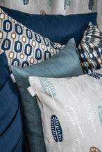 Load image into Gallery viewer, Slat Cushion Cover - Dusty Blue