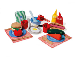 Cooking Set Soft Toy
