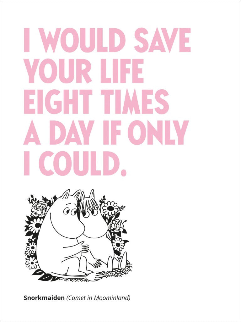If Only I Could Moomin - Card