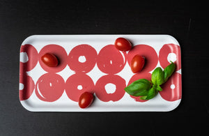 Twirl Tray - Red