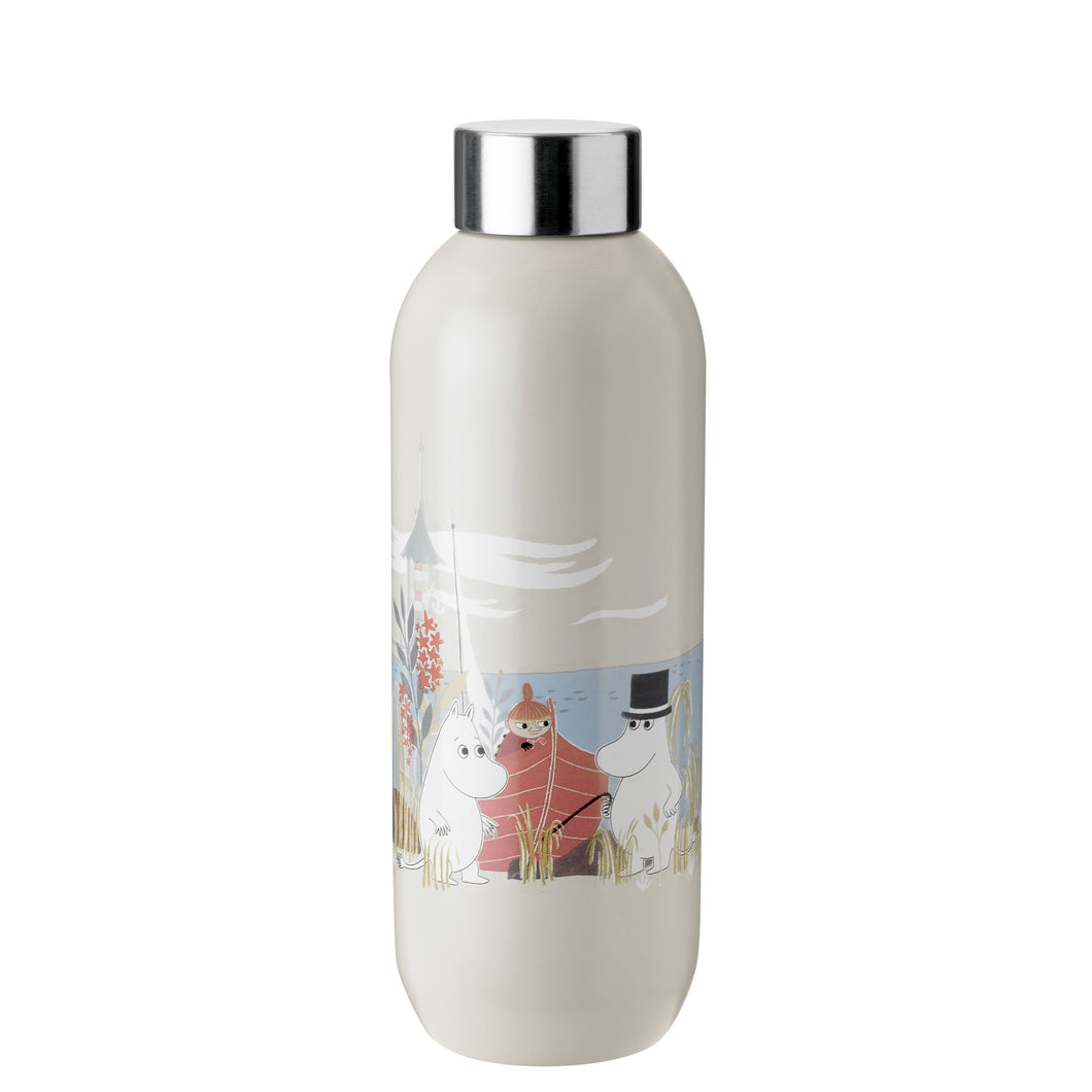 Moomin Keep Cool Drinking Bottle - Sand