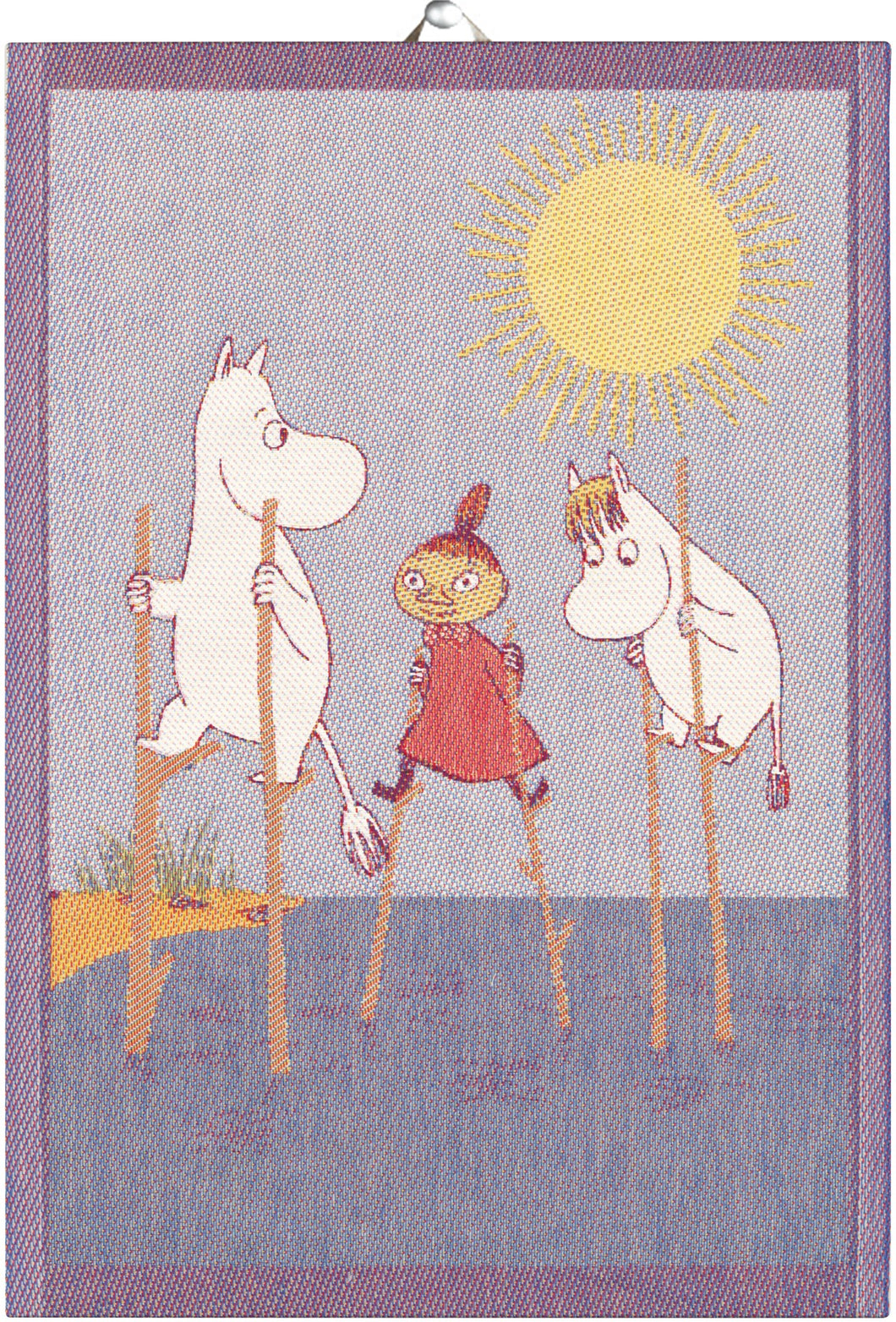Moomin Stilts Tea Towel