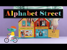 Load and play video in Gallery viewer, Alphabet Street Book - Ingela P Arrhenius