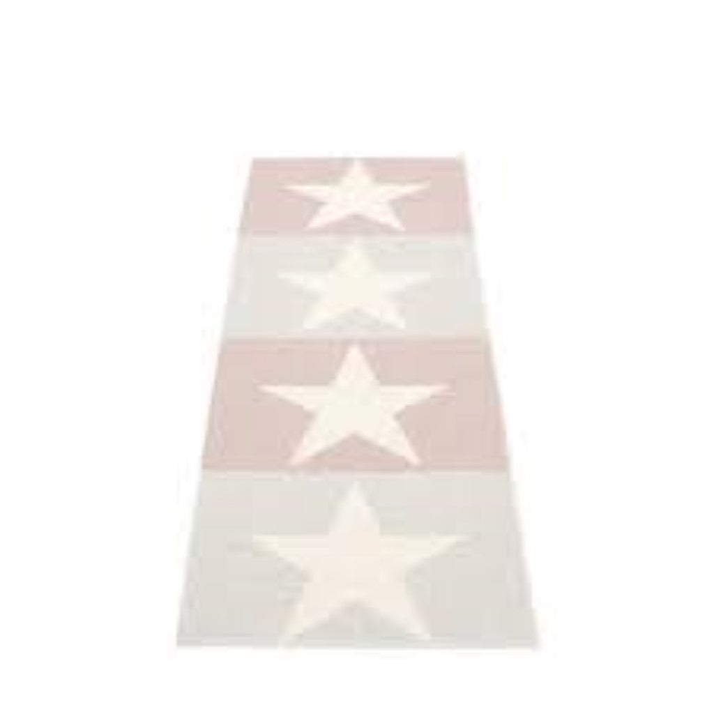 Viggo Two Rug - Fossil Grey and Pale Rose