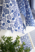 Load image into Gallery viewer, Garden Teatowel Blue