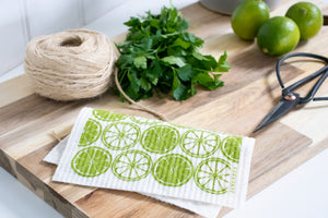 Citrus Dishcloth - Green