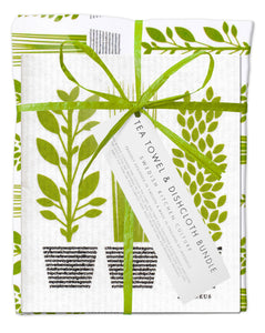 Herbs Bundle (1 teatowel 3 dishcloths)