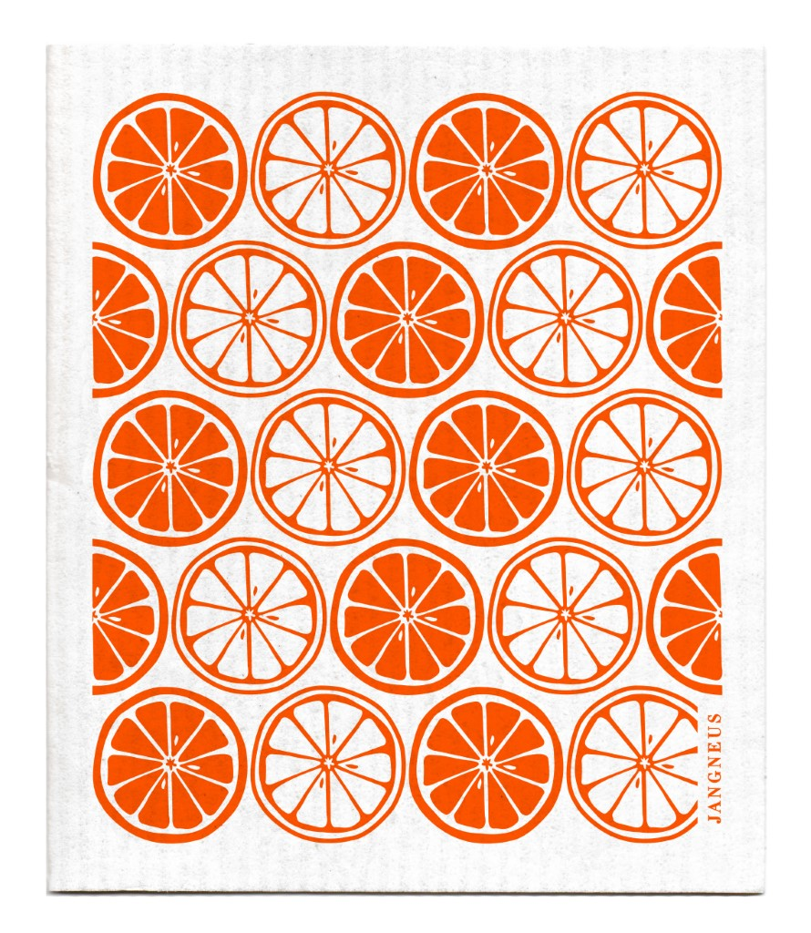 Citrus Dishcloth - Orange