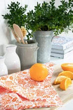 Load image into Gallery viewer, Orange Fox and Oak Bundle (1 Teatowel 3 dishcloths)