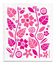 Load image into Gallery viewer, Garden Dishcloth - Pink