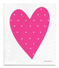 Load image into Gallery viewer, Heart Dishcloth - Pink
