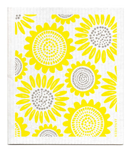 Sunflower Dishcloth - Yellow