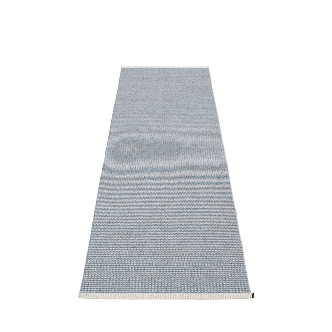 Mono Rug - Storm Blue/Light Grey