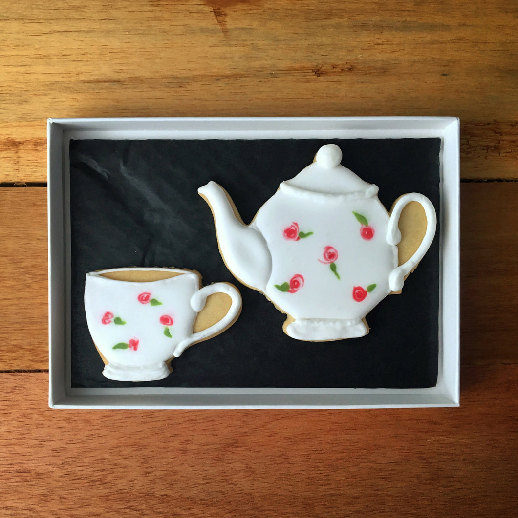 Tea For One Letterbox Biscuits