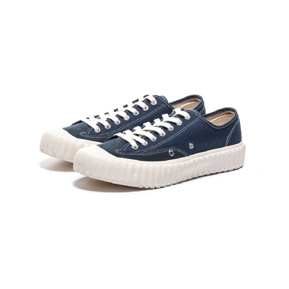 EXCELSIOR WORKMAN LO CANVAS MIDNIGHT BLUE/OFF-WHITE