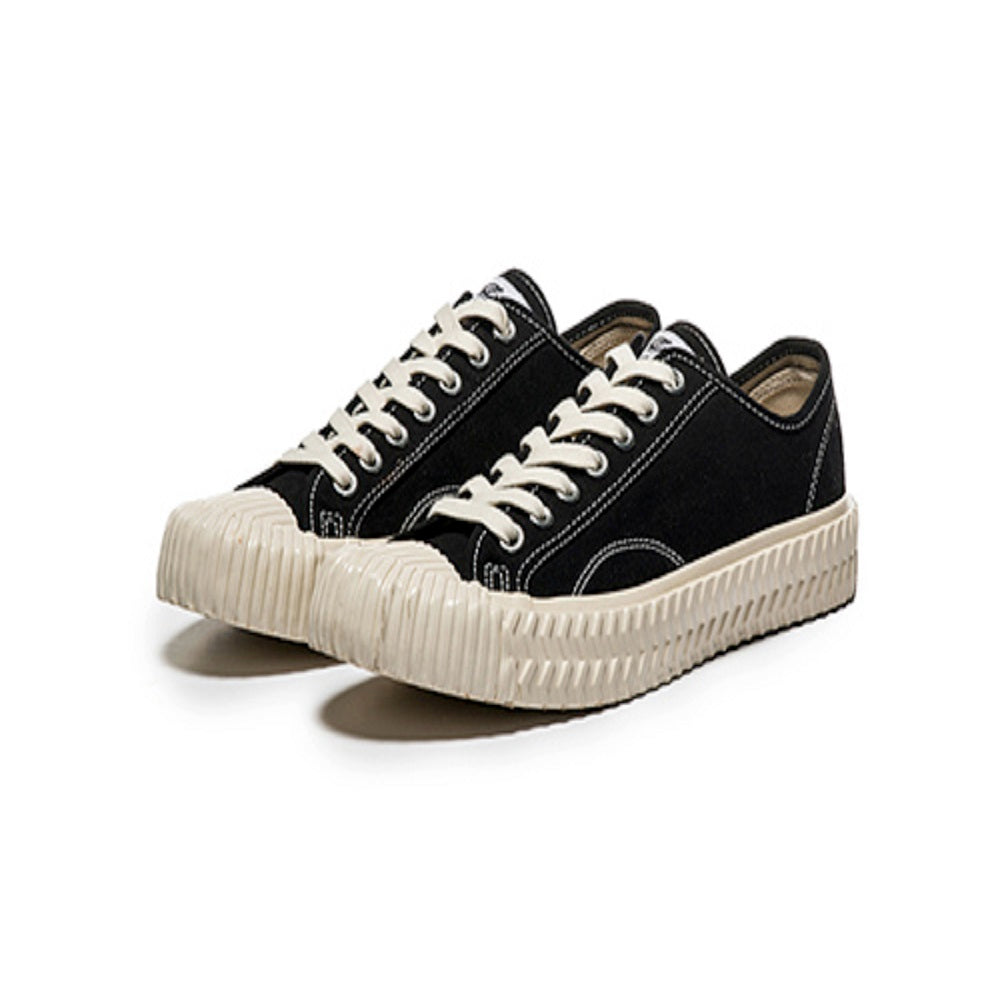EXCELSIOR BOLT LO CANVAS BLACK/OFF WHITE