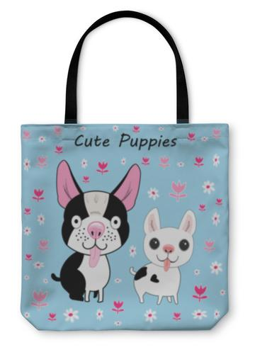 For 2-Legged Friends: Tote Bags