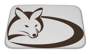 Bath Mat, Image Of An Fox