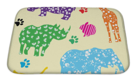 Bath Mat, Animals