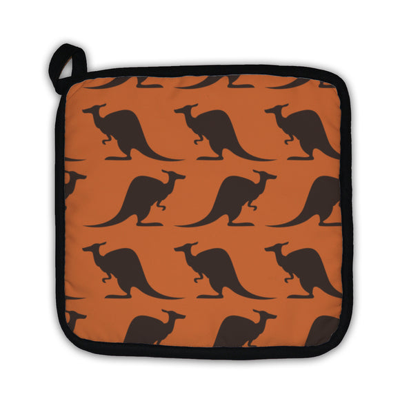 Potholder, Pattern With Kangaroo