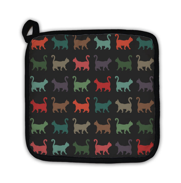 Potholder, Cats Pattern