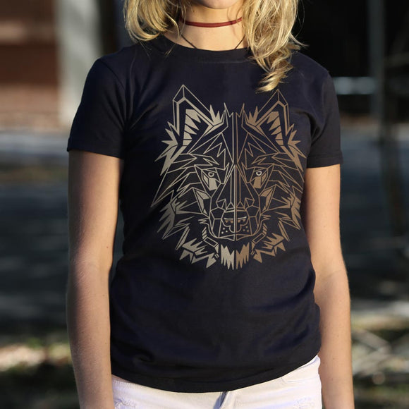 Polygon Wolf T-Shirt (Ladies)