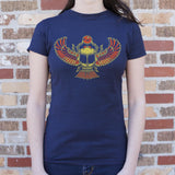 Desert Scarab T-Shirt (Ladies)