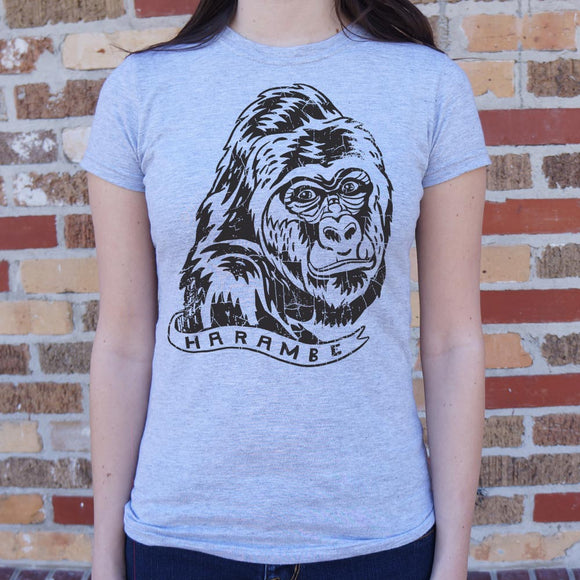Harambe T-Shirt (Ladies)