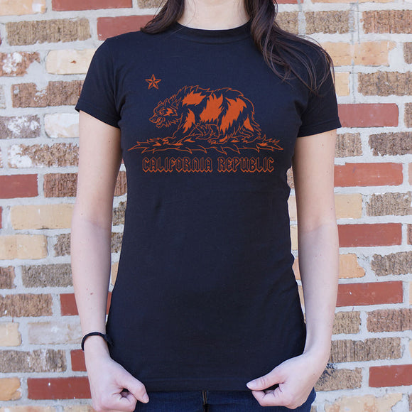 Metal California T-Shirt (Ladies)