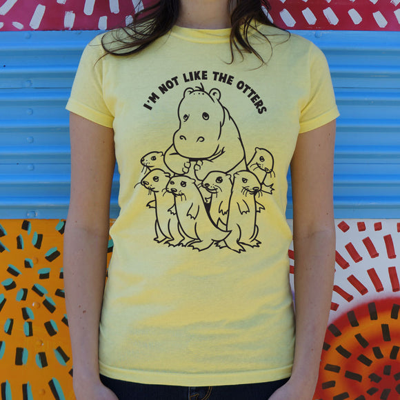 Not Like Otters T-Shirt (Ladies)