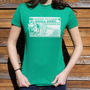 T. Rex License T-Shirt (Ladies)