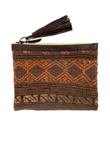 Afghani Kilim Clutch Purse No. 1