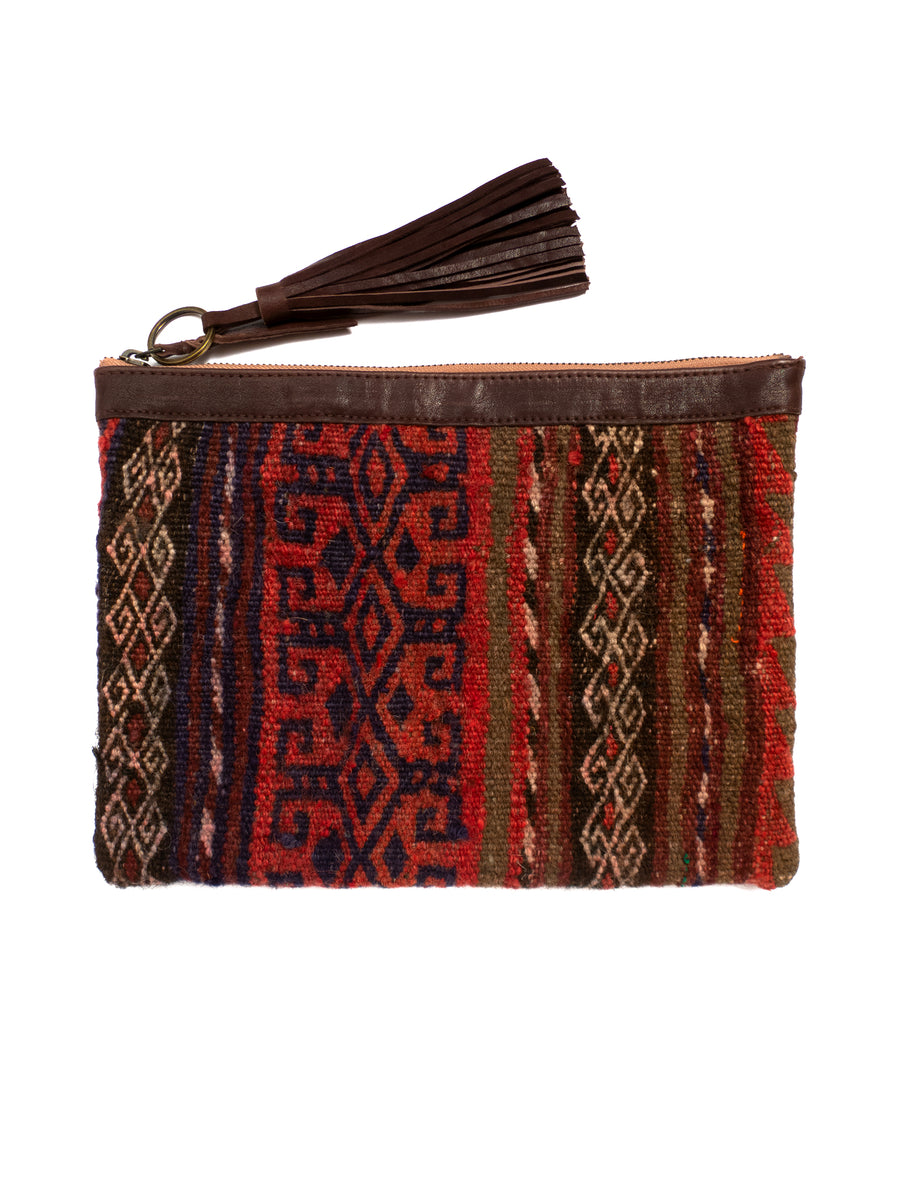 Afghani Kilim Clutch Purse No. 2