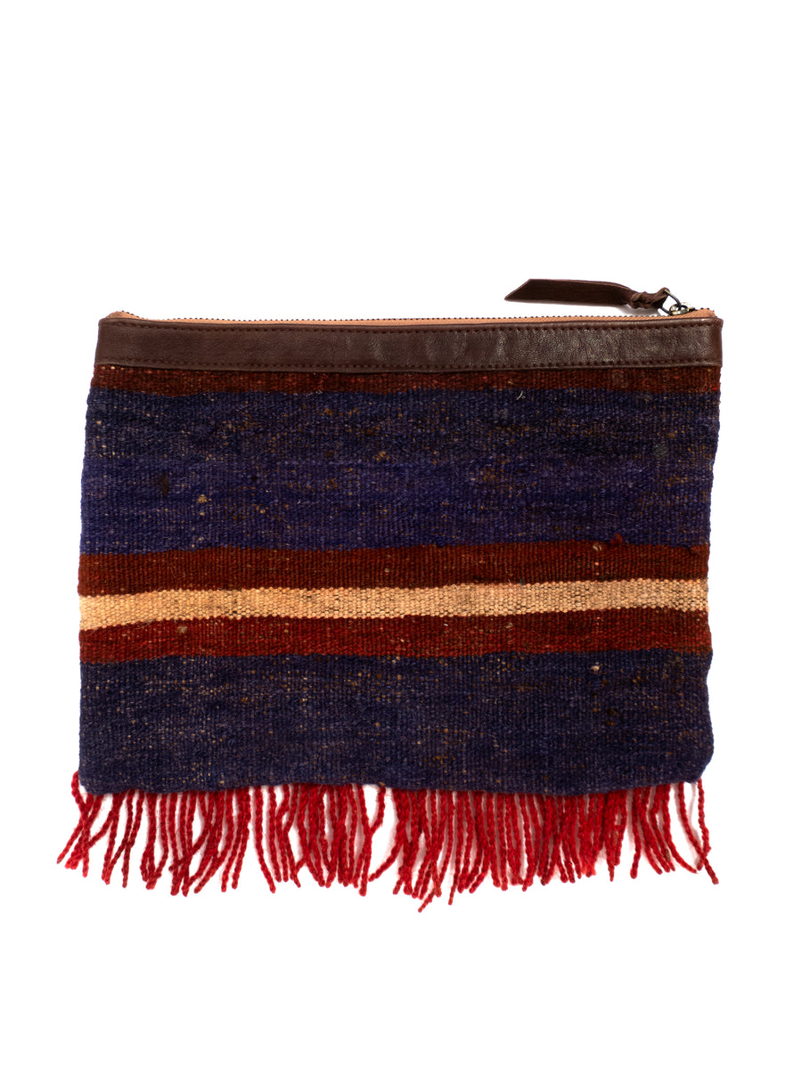 Afghani Kilim Clutch Purse No. 3