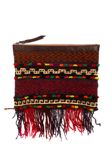 Afghani Kilim Clutch Purse No. 4