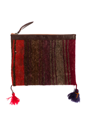 Afghani Kilim Clutch Purse No. 5