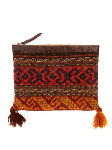 Afghani Kilim Clutch Purse No. 7