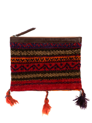 Afghani Kilim Clutch Purse No. 8