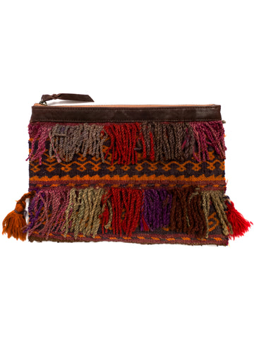 Afghani Kilim Clutch Purse No. 9