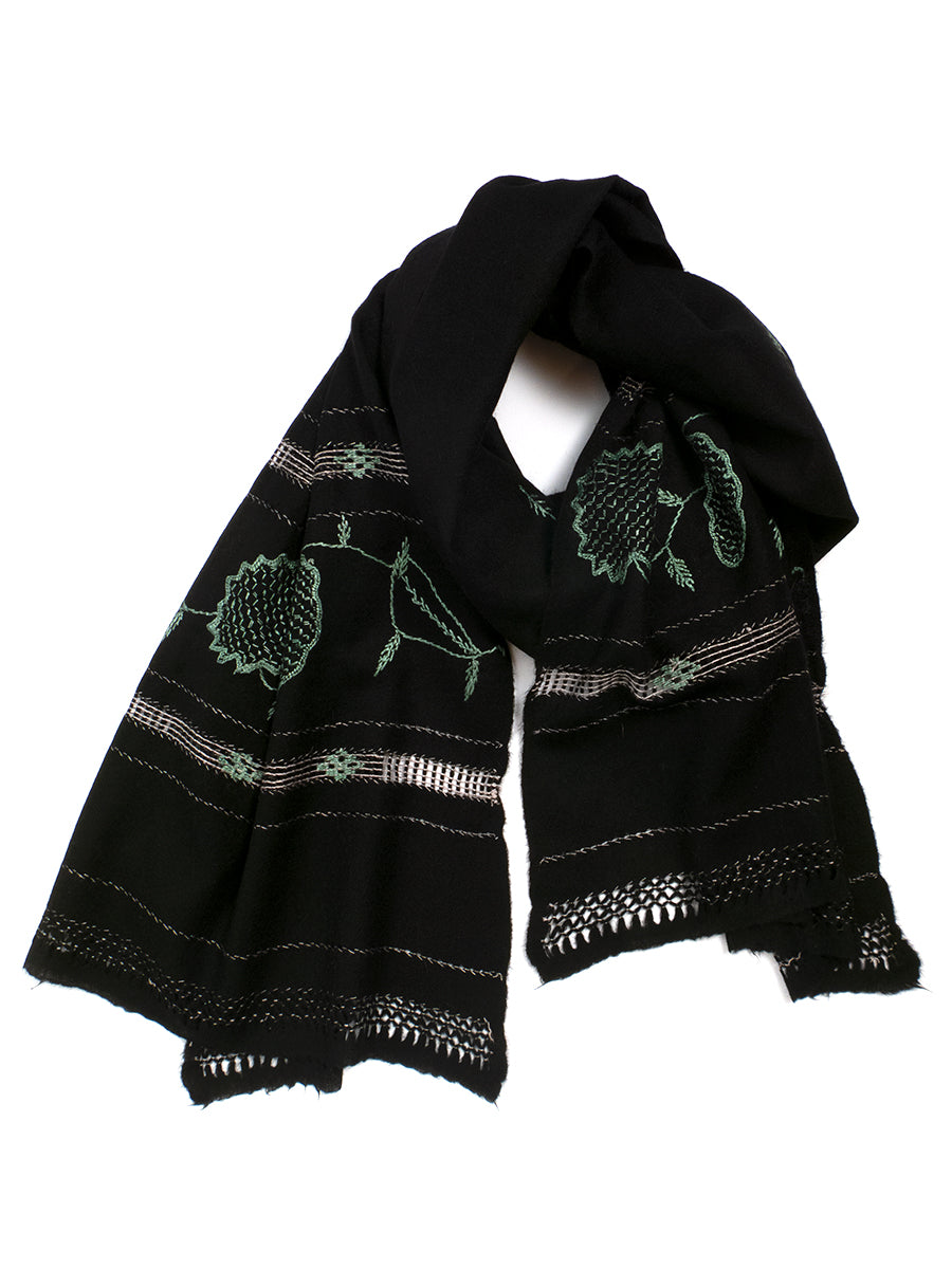 Cashmere Embroidered Shawl No. 7