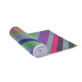 Hot Yoga Towel Chevron Grey