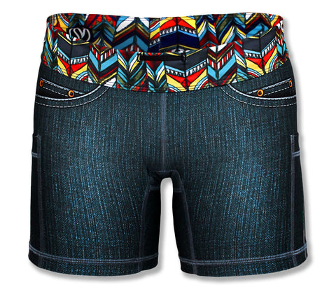 "Owl Denim 4"" Shorts"