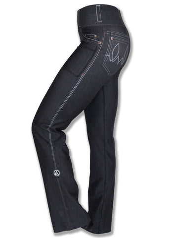 Black Denim Performance pants