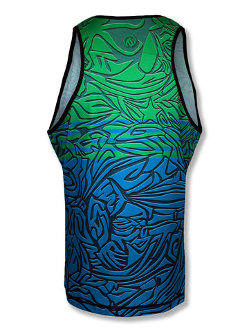 Mens Under the Sea Singlet