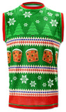 Mens Fruitcake Sweater Vest