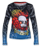 Run or Die Fire Longsleeves